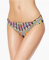 Bar III Magic Touch Printed Cheeky Bikini Bottoms, Created for Macy's Women's Swimsuit