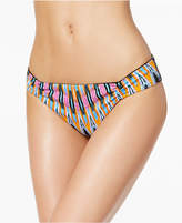 Bar III Magic Touch Printed Cheeky Bikini Bottoms, Only at Macy's