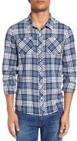 Travis Mathew Men's 'Gregg' Regular Fit Plaid Sport Shirt
