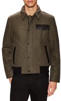 Victorinox Wilhelm Wool Leather Trimmed Jacket
