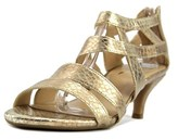 Aerosoles Masquerade Women Open-toe Synthetic Gold Heels.