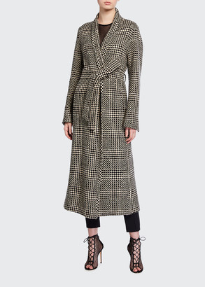 Akris Cashmere-Wool Ankle-Length Coat