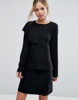 Vero Moda Asymetric Ruffle Top Co-Ord