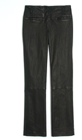 Proenza Schouler Cropped Leather Pant