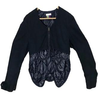 Facetasm Blue Cotton Jacket for Women