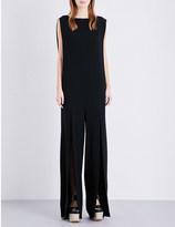 Chalayan Split-detail crepe jumpsuit