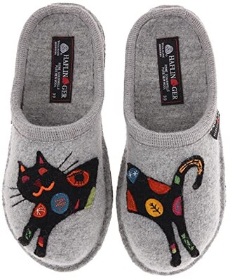 Haflinger Sassy (Stone) Women's Slippers