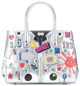 Anya Hindmarch Ebury Small Ii All Over Wink Handbag