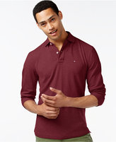 Tommy Hilfiger Men's Big & Tall Long-Sleeve Polo