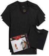 Polo Ralph Lauren Men's 4 Pack Crew-Neck Undershirts