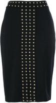 MICHAEL Michael Kors metal studded skirt