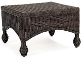 The Well Appointed House Closed Weave Ottoman - Additional Colors Available