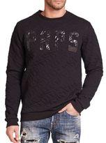 PRPS Erdanus Quilted Cotton Sweatshirt