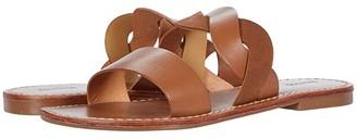 Soludos Imogen Leather Sandal (Black/Midnight) Women's Shoes