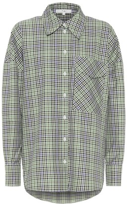 Tibi Utility checked shirt