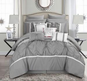 Chic Home Ashville 16-Pc King Comforter Set Bedding