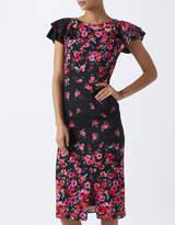 Monsoon Eva Print Midi Dress