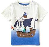 Joules Baby/Little Boys 12 Months-3T Zeb Dip-Dye Boat Tee