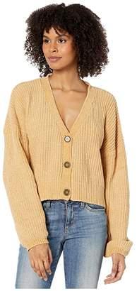 Volcom DIY Fly Sweater (Vintage Gold) Women's Sweater