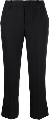 Zadig & Voltaire Posh embellished-hem cropped trousers