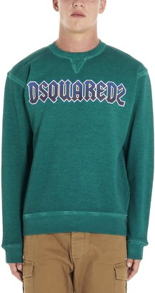 DSQUARED2 logo Heavy Metal Sweatshirt