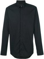 Jil Sander concealed button shirt - men - Cotton/Polyamide/Spandex/Elastane - 39