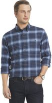Arrow Big & Tall Classic-Fit Plaid Button-Down Shirt