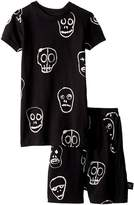 Nununu Skull Mask Short Loungewear Boy's Pajama Sets