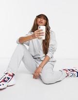 Asos Design DESIGN tracksuit hoodie / slim jogger with tie