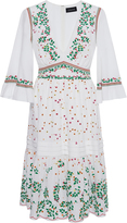 Saloni June Embroidered Cotton Dress
