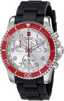 Victorinox Men's 241433 Analog Display Swiss Quartz Black Watch