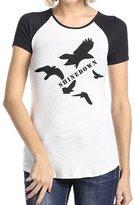 KTOMPDon Shinedown Woman's 100% Cotton Raglan T Shirts For Female