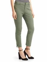 Gap Bi-stretch skinny ankle crop pants