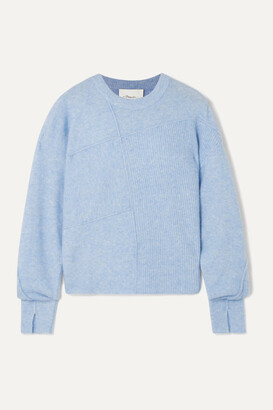 3.1 Phillip Lim Lofty Melange Knitted Sweater