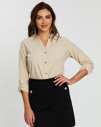 Dorothy Perkins Soft Denim Shirt
