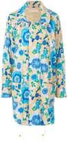 Marni floral printed coat