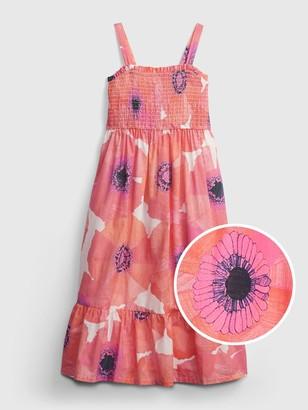 Gap Kids Floral Midi Dress