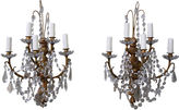 One Kings Lane Vintage French Louis XV-Style Sconces, Pair