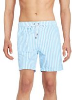 Mr.Swim Striped Swim Trunks