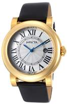 Invicta Women's I-Force Black Genuine Leather White Leather