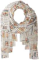 Manila Grace Plaid on Plaid Scarf Scarves