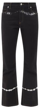 Marni - Tie-dye Flared-leg Jeans - Black