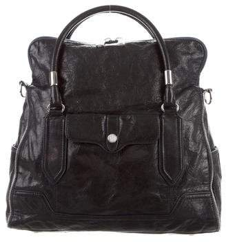 Rebecca Minkoff Leather Fold-Over Satchel