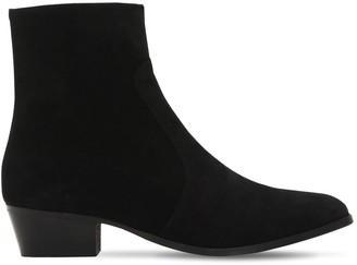 Everyday Hero 45mm Zimmerman Zip-up Suede Boots