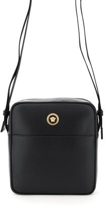 Versace Icon Logo Messenger Bag