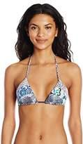 Maaji Women's Seascape Scenario Sliding Triangle Bikini Top