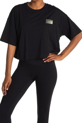 New Balance Optiks Boxy Crop T-Shirt