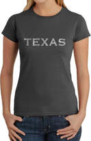 LOS ANGELES POP ART Los Angeles Pop Art The Great Cities Of Texas Graphic T-Shirt