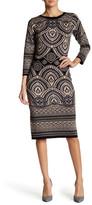 Taylor Knit Bodycon Midi Dress