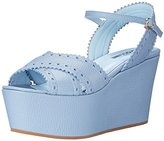 Studio Pollini Women's Leather Wedge Sandal